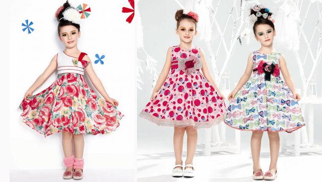 Vestidos para fiestas infantiles
